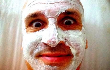 מלחיץ: גל אוחובסקי בסלפי מסכת פנים
