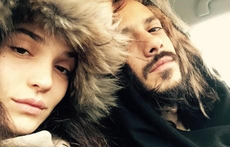 בדרך ליוון: ציון ברוך ויאנה יוסף יוצאים לחופשה רגע לפני לידה