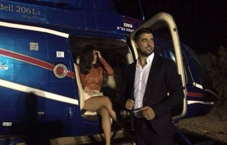 צפו: תמונות בלעדיות מאחורי הקלעים של חתונת בר רפאלי