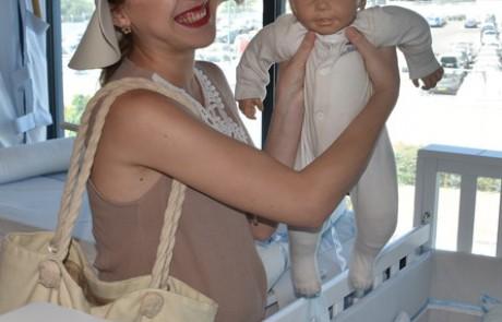 מתרגלת היריון: אנה טימופיי מתכוננת ללידה