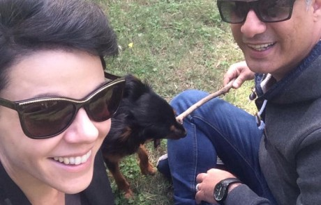 שבת בפארק: דנה רון ויריב נתי עושים אהבה כמו תמיד