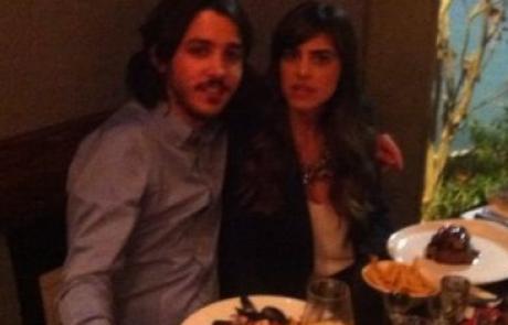 מאוהבת: נופר מור והארוס בארוחת ערב רומנטית