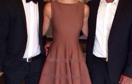 אז מה הולכים ללבוש הגברים בבית משפחת רפאלי ביום החתונה?
